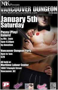 MVK presents Vancouver Dungeon January 2013