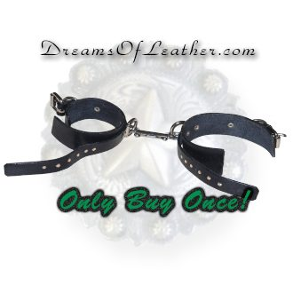 Dreams of Leather - Cuffs