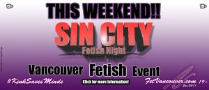 Vancouver Fetish events notifier Sin City